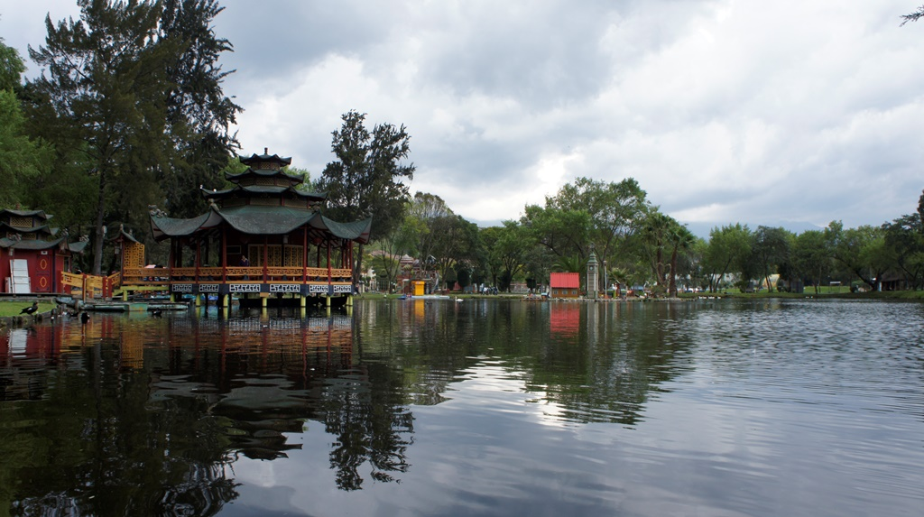 Laguna del Parque Recreacional Jipiro