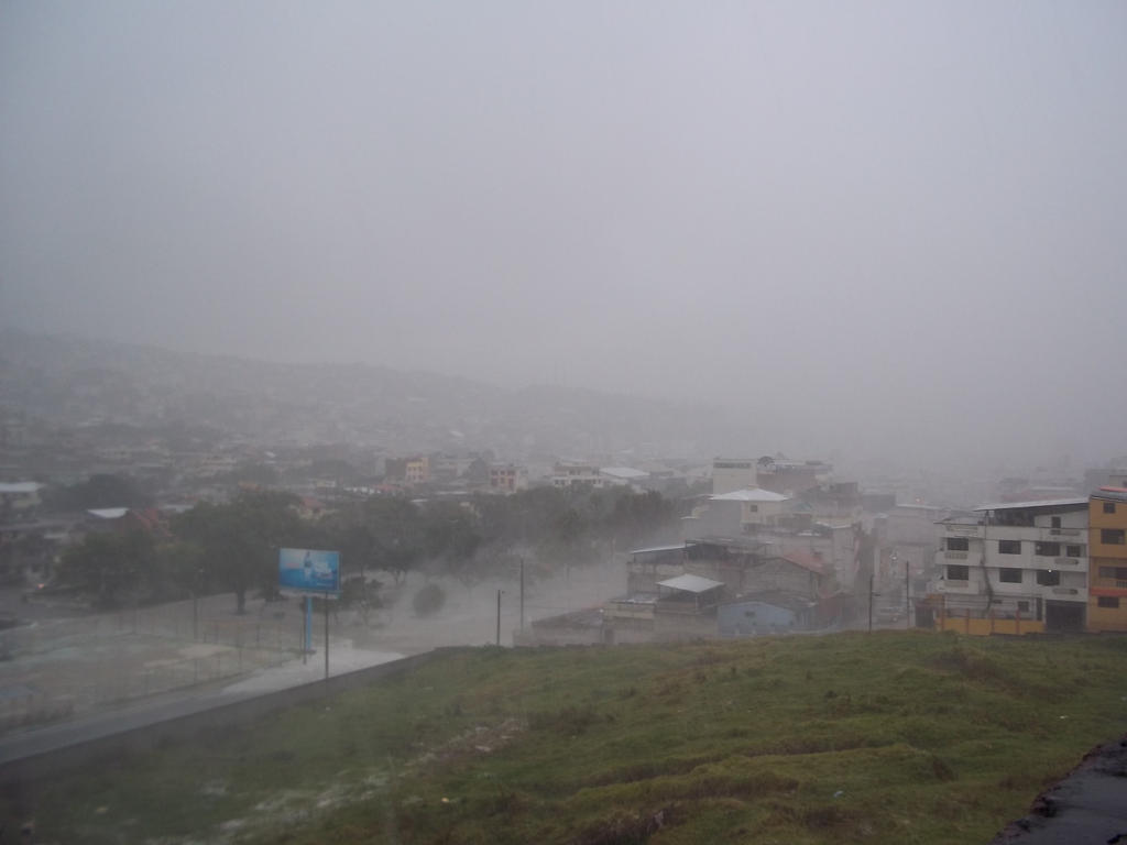 Lluvia en Loja