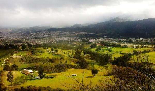 Loja vista desde Punzara Alto