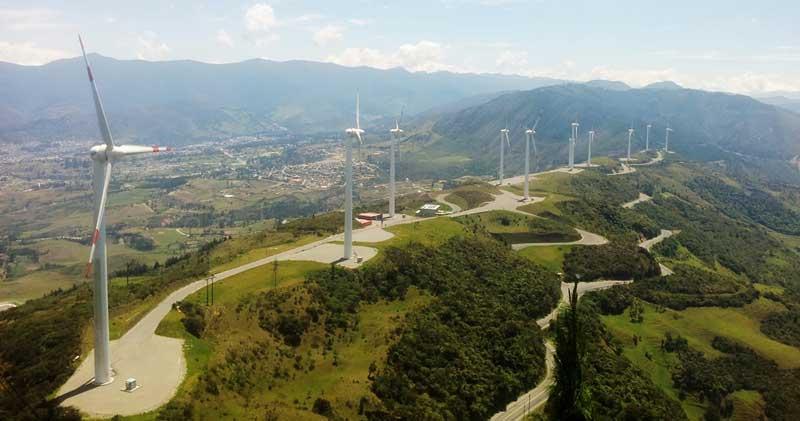 Parque Eólico Villonaco Operativo