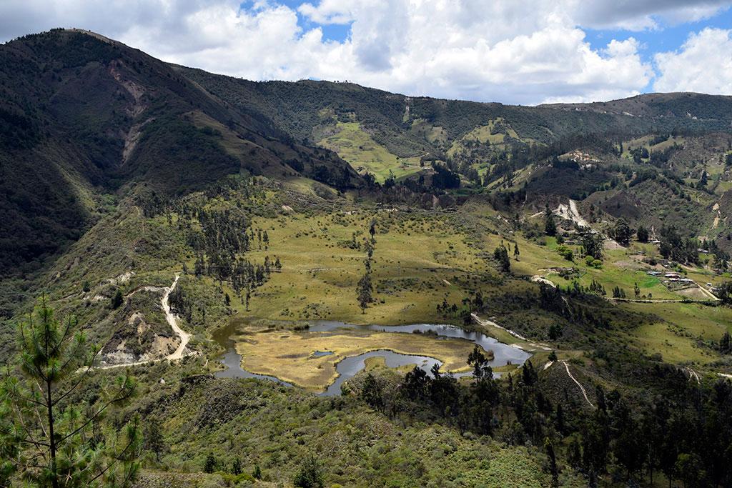 Laguna de la Cruz